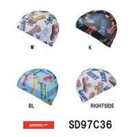 SD97C36 SPEEDO(スピード) メッシュキャップ 水泳/スイミング/水泳帽