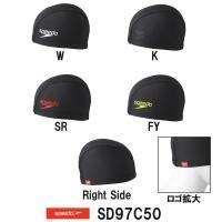SD97C50 SPEEDO(スピード) トリコットキャップ Stack logo collecti...