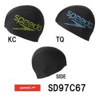 SD97C67 SPEEDO(スピード) トリコットキャップ 水泳帽/スイムキャップ/スイミング/プ...
