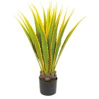 GLP-1483 観葉植物 イエローアカベ 造花 アート フェイク インテリアグリーン  祝い 室内 プレゼント ギフト 贈り物 開店祝い 新築祝い