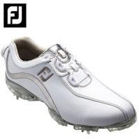 フットジョイ FootJoy ゴルフシューズ ソフトスパイク ゴルフスパイク レディース FJ ReelFit WH/SL 93809|himaraya