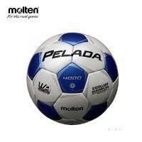 モルテン molten サッカーボール 5号球 検定球 中学校 高校 一般 ペレーダ4000 F5P4000-WB