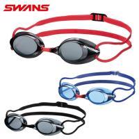 スワンズ SWANS FINA承認 ノンクッション スイミングゴーグル メンズ レディース ジュニア 競泳用ノンクッションゴーグル SR-1N EV|himaraya