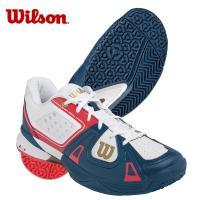 ウィルソン ラッシュ・プロ SL(WH/BL/RD) (WRS319480U) テニスシューズ(メンズ)