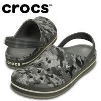 クロックス crocs サンダル ユニセックス クロックバンド カモ クロッグ C203191-025