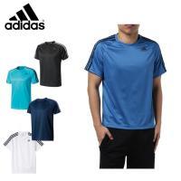アディダス スポーツウェア 半袖 メンズ D2M トレーニング3ストライプスTシャツ BVA80 【KPN】 MENS adidas