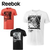 吸汗速乾性のあるコットンタッチの素材を使用したグラフィックショートスリーブTシャツ。デルタロゴとフォ...