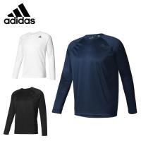 肌触りが良く、吸汗速乾性を兼ね備えつつも耐久性のあるロングスリーブTシャツ。トレーニング中も肌をドラ...