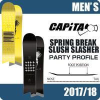 キャピタ CAPITA スノーボード 板 メンズ レディース スプリング ブレーク スラッシュ スラッシャー SPRING BREAK SLUSH SLASHER|himaraya