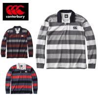 ラガーシャツ RA47555 メンズ カンタベリー CANTERBURY 長袖 ロングスリーブ
