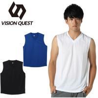 サッカー アンダーシャツ メンズ インナーシャツ ノースリーブ VQ010310G03 ビジョンクエスト VISION QUEST