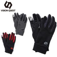 602712e647920 ビジョンクエスト VISION QUEST 手袋 メンズ レディース UNI ストレッチグローブ VQ430108H01