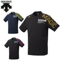 デサント DESCENTE バレーボールウェア 半袖シャツ メンズ レディース プラクティスシャツ DVUNJA54