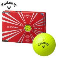 キャロウェイ Callaway ゴルフボール 1ダース 12個入り クロムソフト CHROME SOFT