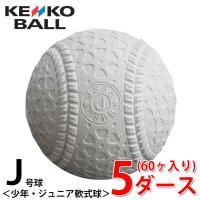 ケンコー kenko 軟式野球ボール J号 ジュニア 5ダース60ケ入り JD