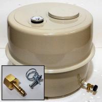 【即日出荷】 長府の風呂釜に付属する18Lのオイルタンクですが、付属のバルブは8mm銅管接続用のため...