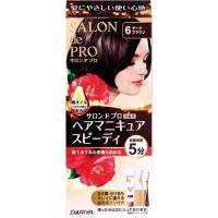 商品名:サロンドプロ ヘアマニキュア・スピーディ (白髪用) 6 ダークブラウン JANコード:49...