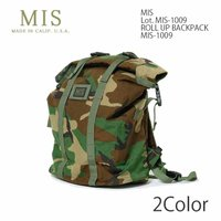 MIS (Make It Simple. Simple can be harder than complex.) ROLL-UP BACKPACK MIS-1009