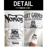 ノートン NORTON 長袖 Tシャツ ロンT メンズ 刺繍 服