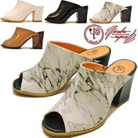 【YOSUKE U.S.A】ヨースケ 靴のサンダル  ファッション/レディース/ミュール/オープン...