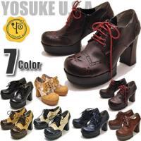 【YOSUKE U.S.A】ヨースケ 靴の厚底パンプス ハイヒール<BR>ファッション/...