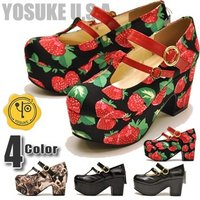 【YOSUKE U.S.A】ヨースケ 靴  ファッション/レディース/カラーエナメル/合成皮革/...
