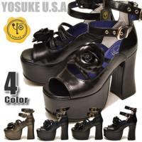 ブランド:YOSUKE U.S.A ヨースケ よーすけ YO-YOブランド KERA 素材:合成皮革...