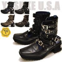 ファッション/レディース/ブーツサンダル/多重ベルト/ベルト付き/YOSUKE/ヨースケ/ショートブ...