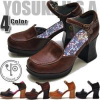 YOSUKE U.S.A ヨースケ ストラップパンプス ※(予約)は3営業日内に発送