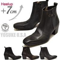 ブランド:メンズ YOSUKE U.S.A ヨースケ よーすけ YO-YOブランド KERA 靴 通...