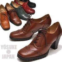 【YOSUKE U.S.A】ヨースケ 靴 ファッション/レディース/オックスフォードパンプス/カジュ...