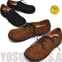 【YOSUKE U.S.A】ヨースケ 靴のレースアップシューズレディース フラットシューズ 定番 レ...