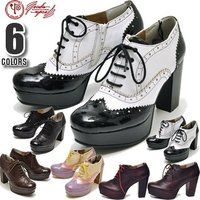 【YOSUKE U.S.A】ヨースケ 靴の厚底パンプス ハイヒールファッション/レディース/ローファ...
