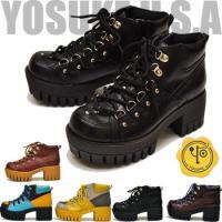 【YOSUKE U.S.A】ヨースケ 靴の厚底ブーツ ハイヒール<BR>ファッション/レ...