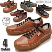YOSUKE U.S.A ヨースケ 靴のスニーカー ファッション/レディース/レースアップシューズ/...