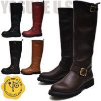 【YOSUKE U.S.A】ヨースケ 靴  ファッション/レディース/エンジニアブーツ/ロングブーツ...