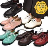 【YOSUKE U.S.A】ヨースケ 靴 紐靴 オックスフォードシューズ ファッション/レディース/...