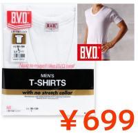 数量限定の今だけのYahooセール商品! BVD GOLD 丸首U首半袖Tシャツです。 数量限定の大...