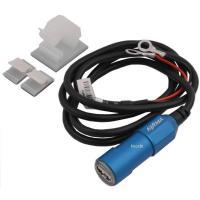キジマ USBチャージャー シングル ポートです。  汎用 カラー:ブルー  材質:ボディー:アルミ...