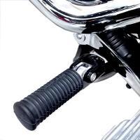 【メーカー在庫あり】 HD-05385 キジマ ステップコンバージョンブラケットセット 18年以降 ソフテイルモデル 黒 左右セット HD店