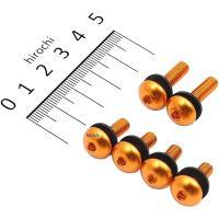DBS056G デュラボルト DURA BOLT スクリーンボルトキット M5x16mm、20mm 6穴用 ゴールド JP店