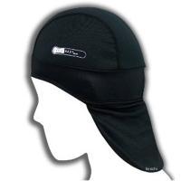 うなじの日焼け対策にも有効なひさし付きのヘルメットインナーキャップ キャップ本体はクールマックス製。...