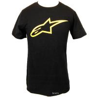 アルパインスターズ Tシャツ AGELESS TEE サイズ:S カラー:ブラック/イエロー  送料...