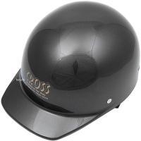 【メーカー在庫あり】 CR-680-GUN CR-680 リード工業 ヘルメット クロス ガンメタル フリーサイズ (57cm-60cm) JP店