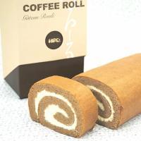 コーヒー専門店が考えた 【 珈琲ロール 】 自家焙煎コーヒー 使用 バターコーヒークリーム|hirocoffee-shop