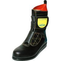アスファルト舗装用安全靴といえばノサックスのHSK。   熱場に強い秘密のひとつは、直接加硫圧着法と...