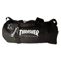 Thrasher Magazine ボストンバッグ 旅行鞄 カバン スラッシャー Mag Logo Skatebag Duffel Bag Black スケボー SK8 スケートボード HARD CORE PUNK