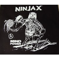 NINJA X トートバッグ カバン エコバッグ ニンジャエックス 2017 Original Tote Bag A4サイズ Black スケボー SKATE SK8 スケートボード HARD CORE PUNK パンク