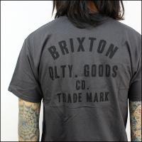 Brixton ブリクストン Tシャツ WOODBURN S/S STND TEE (WBK)