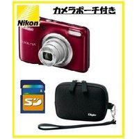 ■商品特徴 充電なしですぐに撮影を楽しめる、単3形電池対応。 気軽にカンタン高画質、ニコンクールピク...